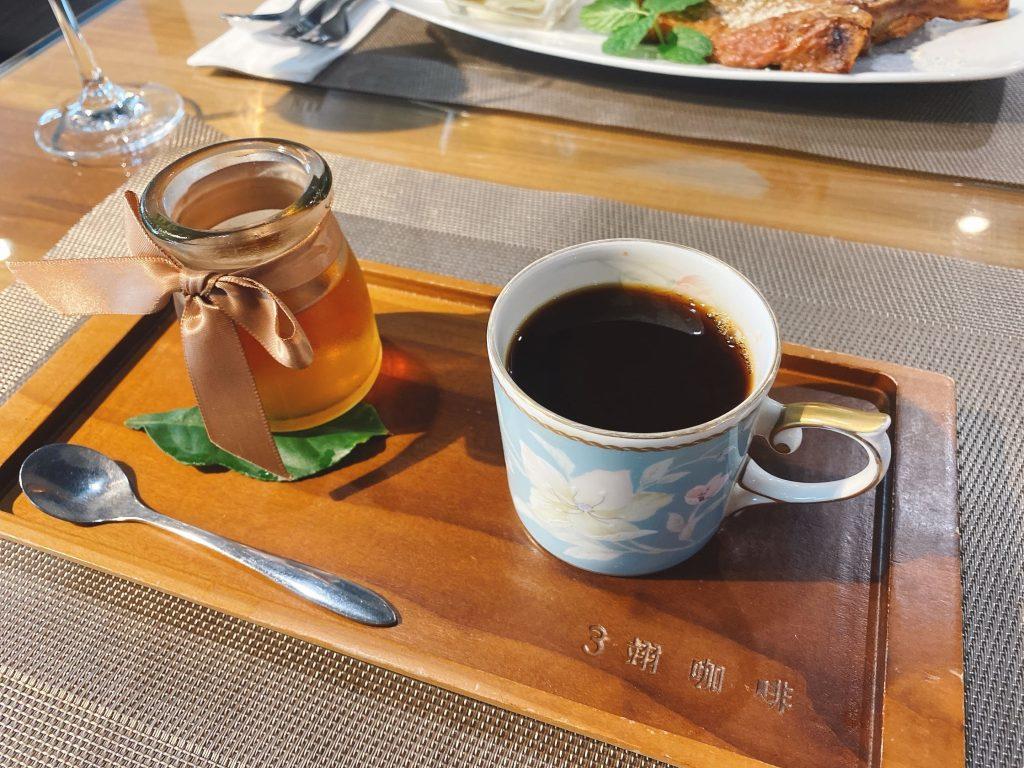 手沖咖啡與茶凍